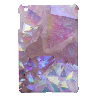 Pink Aura Crystals Cover For The iPad Mini