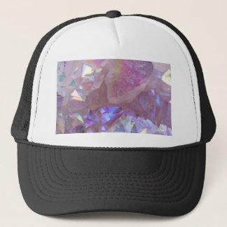 Pink Aura Crystals Trucker Hat