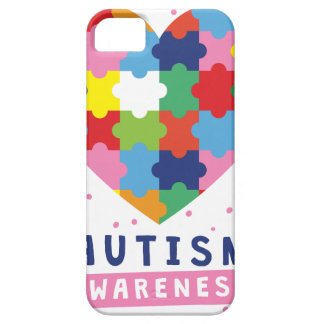 pink autism awareness iPhone 5 cover