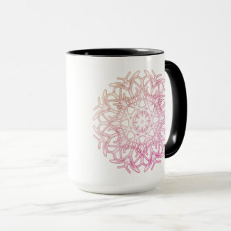 Pink Autumn Bloom ~ Mug