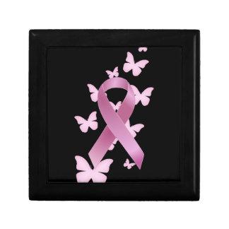 Pink Awareness Ribbon Gift Box