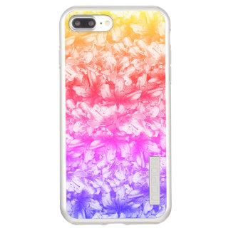 Pink Azalea Flowers Rainbow Incipio DualPro Shine iPhone 8 Plus/7 Plus Case