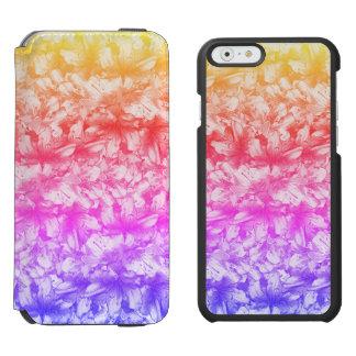 Pink Azalea Flowers Rainbow Incipio Watson™ iPhone 6 Wallet Case