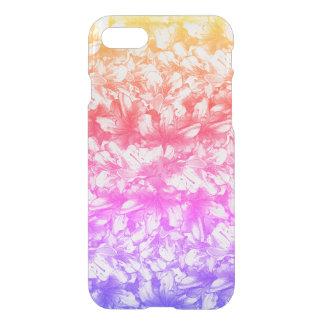 Pink Azalea Flowers Rainbow iPhone 8/7 Case