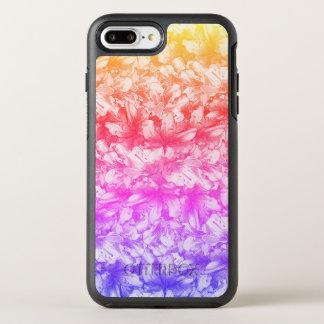 Pink Azalea Flowers Rainbow OtterBox Symmetry iPhone 8 Plus/7 Plus Case