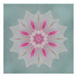 Pink Azalea Veil Lotus Print