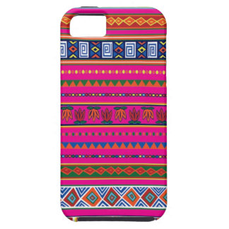 Pink Aztec Pattern iPhone 5 Cases