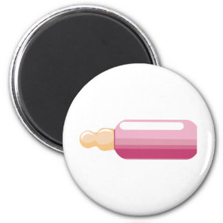 Pink-Baby Bottle New Baby Girl Magnet