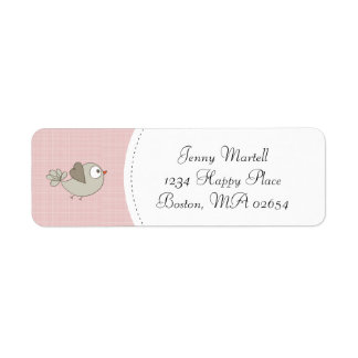 Pink Baby Clothes | Return Address Label