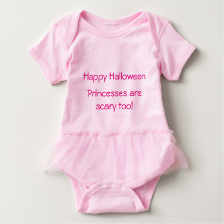 Pink Baby Girl Tutu Bodysuit Halloween Princess