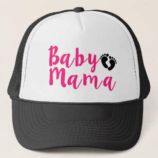 Pink Baby Mama hat