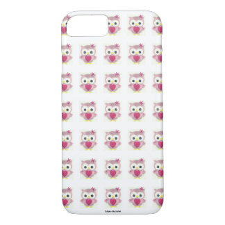 Pink Baby Owl iPhone Case