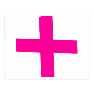 Pink Baby Postcard
