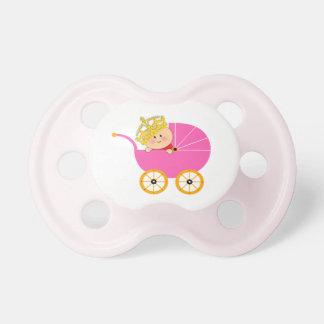 Pink Baby Princess Pacifier