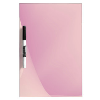Pink Backdrop Dry Erase Board