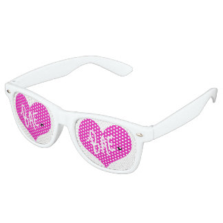Pink BAE Rock Party Festival Sunglasses