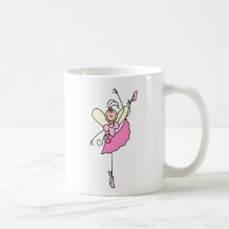 Pink Ballerina Dancing Mug