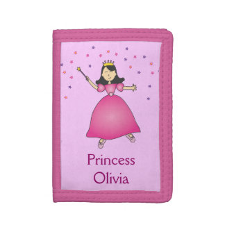 Pink Ballerina Princess Girls Wallet