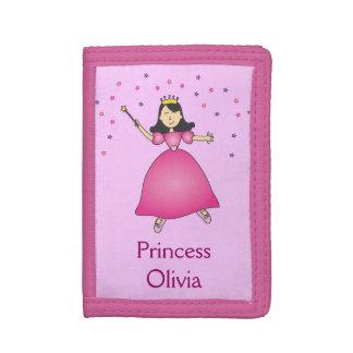 Pink Ballerina Princess Girls Wallet