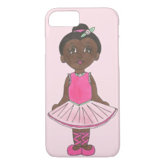 Pink Ballet Dance Costume Tutu Ballerina Dancer iPhone 8/7 Case