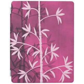 Pink bamboo pink iPad cover