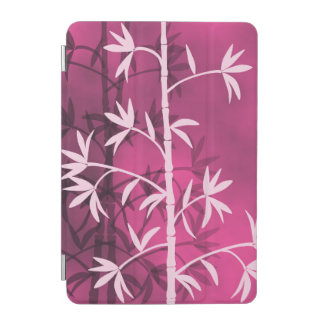 Pink bamboo pink iPad mini cover