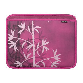 Pink bamboo pink MacBook air sleeve