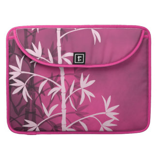Pink bamboo pink sleeves for MacBooks