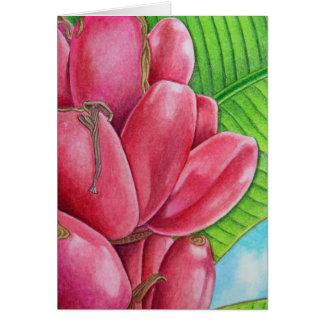 Pink Bananas Card