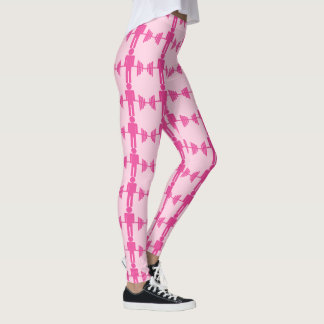 Pink Barbell Weightlifting Gym Leggings