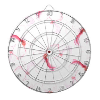 Pink bay-tree dartboard