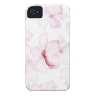 Pink bay-tree iPhone 4 cover