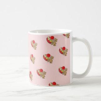 Pink Bear Heart Mug
