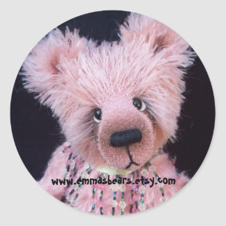 pink bear sticker