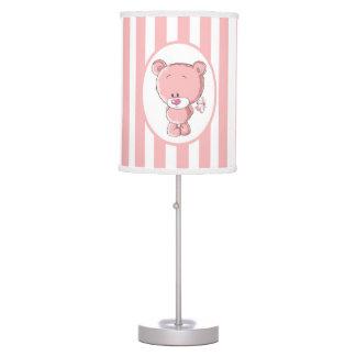 Pink Bear Table Lamp