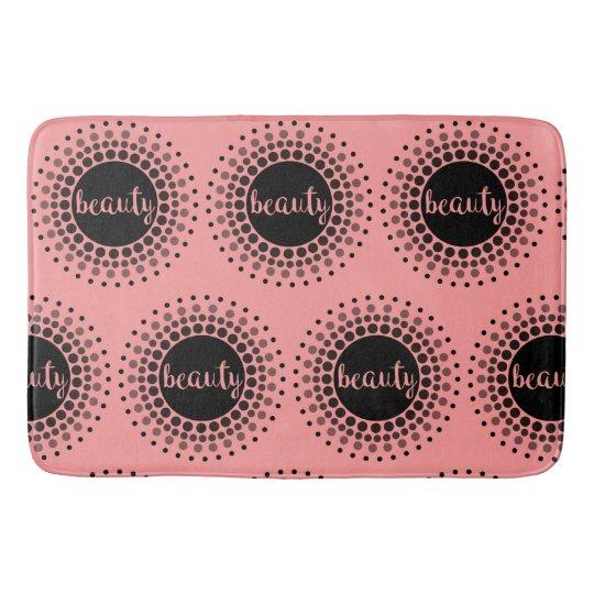 Pink Beauty Bath Mat