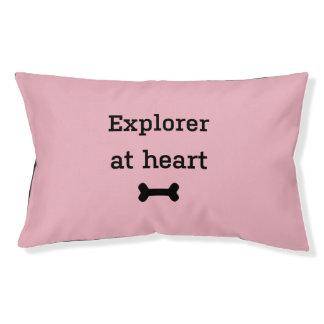 Pink bernardine bernhard dog pet bed