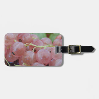 Pink Berry Luggage Tag
