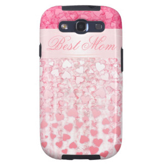 Pink best mom Samsung Galaxy S Case