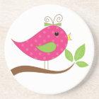 Pink Bird Coaster