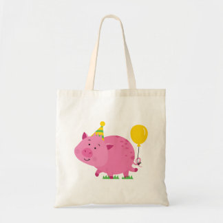 Pink Birthday Party Pig