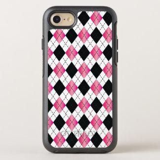 Pink & Black Argyle iPhone 6/6s Otterbox OtterBox Symmetry iPhone 7 Case