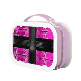 Pink Black Bling Lunchboxes