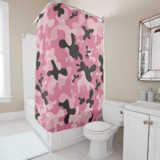 Pink Black Camouflage Camo Design