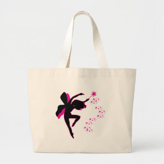 Pink & Black Fairy Bag