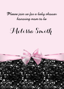 Pink Sparkle Baby Shower Gifts on Zazzle CA