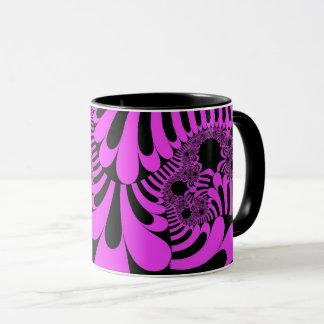 Pink Black Mod Mug