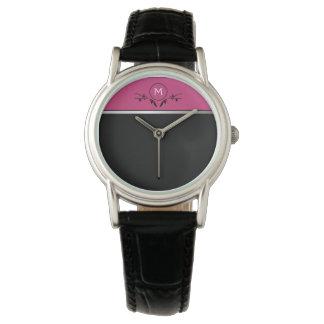 Pink & Black Monogram | Watch