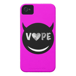 Pink Black Silver Vape Heart iPhone 4 Cover
