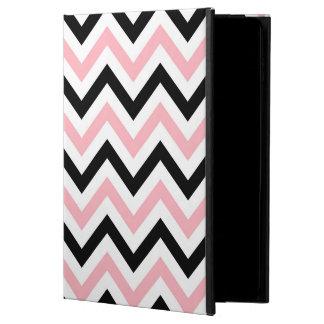 Pink, Black, White Large Chevron ZigZag Pattern